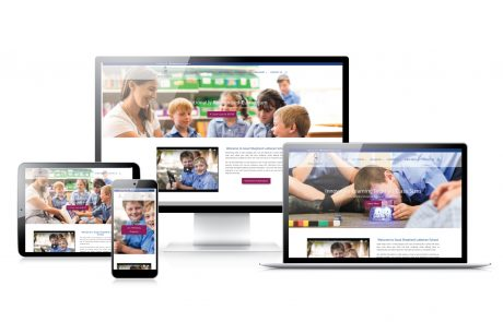 Good Shepherd Lutheran School Web Design