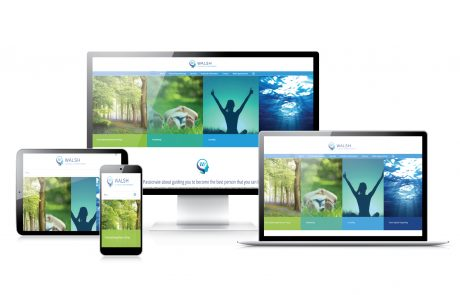 walsh clinical hypnotherapy web design