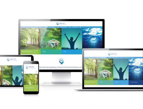 Walsh Clinical Hypnotherapy Website Design
